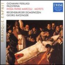 Missa Papae Marcelli - Mottetti - CD Audio di Giovanni Pierluigi da Palestrina,Georg Ratzinger,Regensburger Domspatzen
