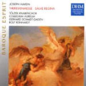 Salve Regina - Theresienmesse - CD Audio di Franz Joseph Haydn