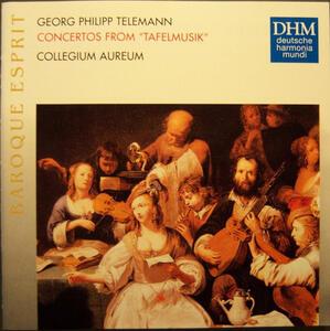 Concerti da Tafelmusik - CD Audio di Georg Philipp Telemann
