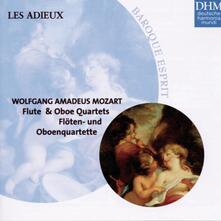 Quartetti con strumenti a fiato - CD Audio di Wolfgang Amadeus Mozart
