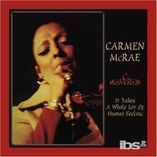 It Takes a Whole Lot - CD Audio di Carmen McRae