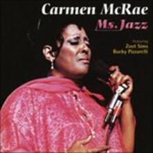 Ms. Jazz - CD Audio di Carmen McRae