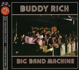 Big Band Machine - CD Audio di Buddy Rich