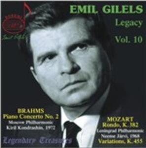 Legacy vol.10 - CD Audio di Emil Gilels