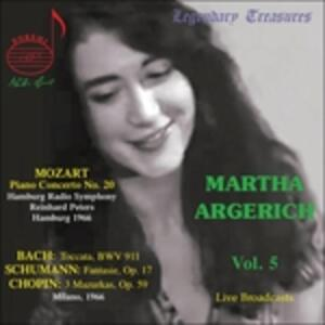 Legendary Treasures 5 - CD Audio di Martha Argerich