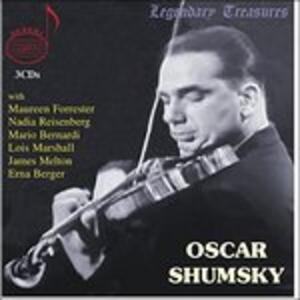 Legendary Treasures - CD Audio di Oscar Shumsky