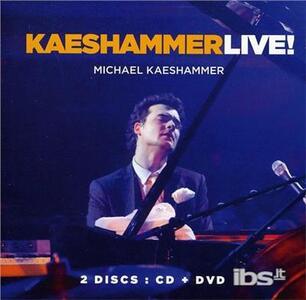 Kaeshammer Live - CD Audio di Michael Kaeshammer