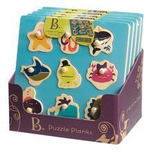 B.Toys giochi in Legno Bx1263Z. Hide N'Sea. Puzzle Plnaks