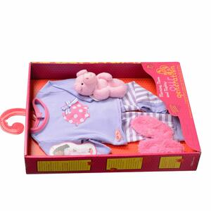 Our Generation Bd30062Z. Morning, Noon And Nighty. Pigiama Con Orsetto Rosa