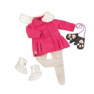 Our Generation Bd30226Z. Snow Sweet. Outfit Con Guanti E Cappottino