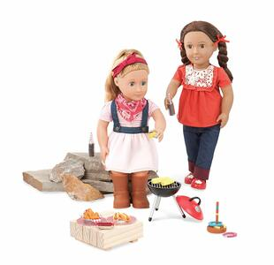 OG Dolls BD37212Z. Bambola Barn Dance & Bbq. Set Per Il Barbecue - 5