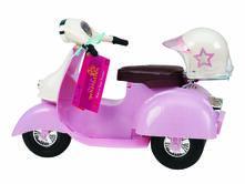 Og Dolls Bd37131Z. Scooter Pink And White