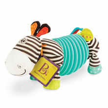 B.Toys giochi Baby Bx1534Gtz. Soft Zebra. Fisarmonica