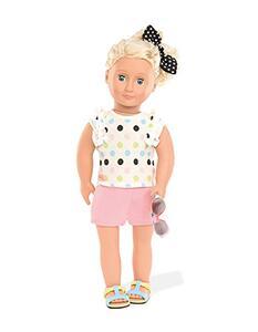 OG Dolls BD30239Z. Polka Dot Top & Short Outfit