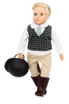 Lori Bambole Evan Riding Boy Doll