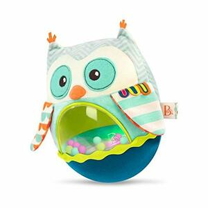 B.Toys Baby Owl Be Back Softy Roly Poly