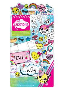Emoji Sticker Art Set Creation