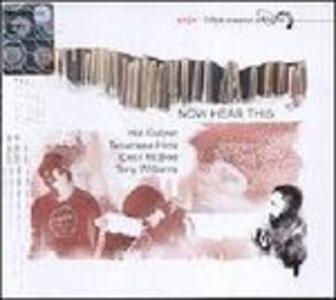 Now Hear This - CD Audio di Hal Galper,Terumasa Hino