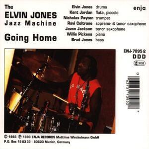 Going Home - CD Audio di Elvin Jones - 2