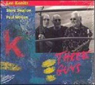 Three Guys - CD Audio di Lee Konitz,Steve Swallow,Paul Motian