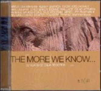 The More We Know - CD Audio