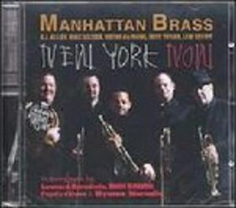 New York Now - CD Audio di Manhattan Brass
