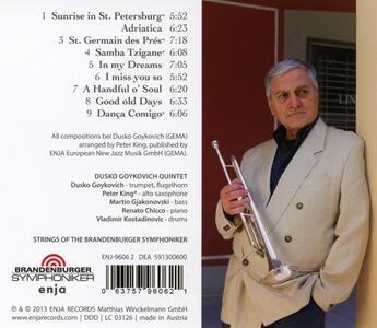 The Brandenburg Concert - CD Audio di Dusko Goykovich - 2