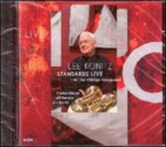 Standards Live. At the Village Vanguard - CD Audio di Lee Konitz