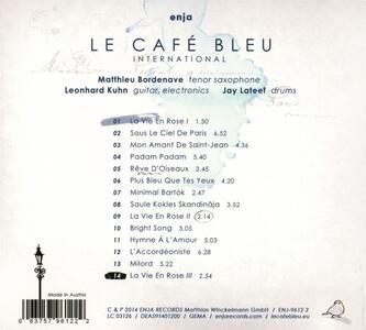 Plays Edith Piaf - CD Audio di Le Café Bleu International - 2