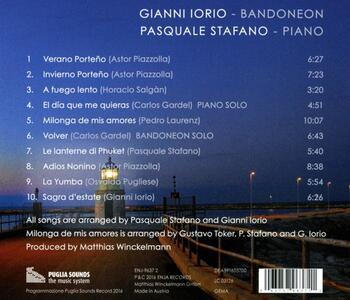 Nocturno - CD Audio di Gianni Iorio,Pasquale Stafano - 2