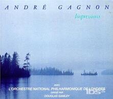 Impressions - CD Audio di André Gagnon