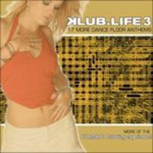 Klub Life 3 - CD Audio