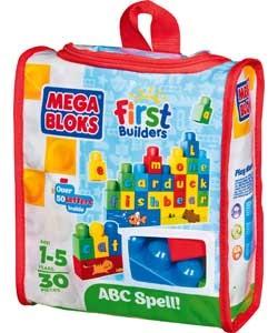 Giocattolo Mega Bloks. First Builders. Costruisci & impara Mega Bloks 0