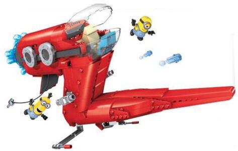 Mega Bloks. Minions. Supervillain Jet