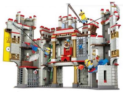 Giocattolo Mega Bloks. Minions. Il Castello Delle Avventure Mega Bloks 0
