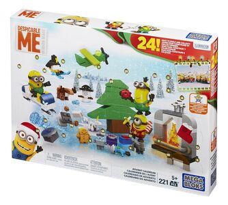 Giocattolo Mega Bloks. Minions. Calendario Avvento Mega Bloks