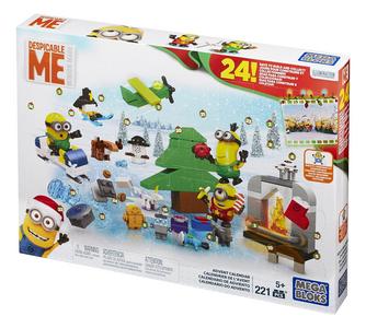 Giocattolo Mega Bloks. Minions. Calendario Avvento Mega Bloks 0