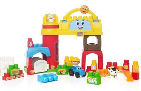 Giocattolo Mega Bloks. First Builders. Fattoria Musicale Mega Bloks