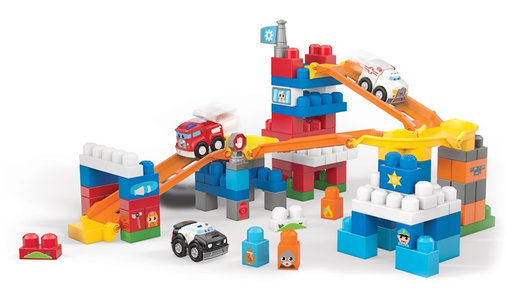 Giocattolo Mega Bloks. First Builders. Squadra di Soccorso Mega Bloks 0