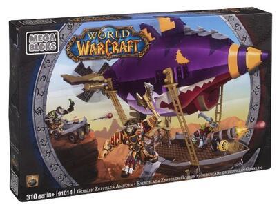 Mega Bloks 91014 World of Warcraft Zepplin Goblin 310 Pezzi - 2
