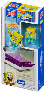 Giocattolo Mega Bloks. Spongebob. Wacky Pack Mega Bloks 0