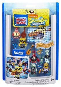 Giocattolo Mega Bloks. Spongebob. Collezione Personaggi Mega Bloks