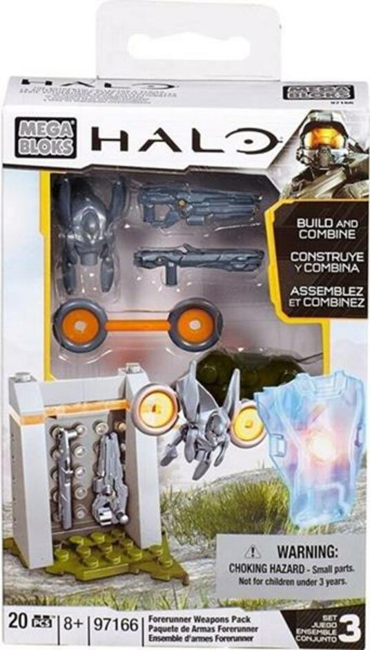 Halo: Forerunner Weapons Pack (97166 20 pezzi) - 2