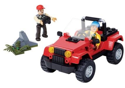 Mega Bloks. Jeep. Veicolo Wrangler - 2