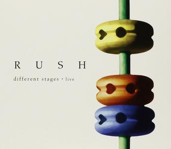 Different Stages Live - CD Audio di Rush