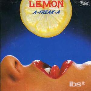 A.freak.a - CD Audio di Lemon