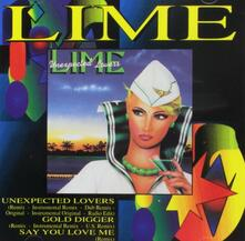 Unexpected Lovers - CD Audio Singolo di Lime