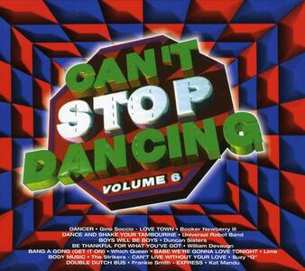 Can't Stop Dancing 6 - CD Audio