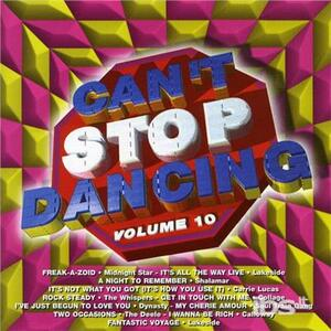 Can't Stop Dancing 10 - CD Audio