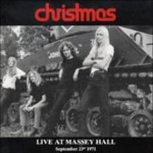 Live At Massey Hall - CD Audio di Christmas